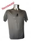 Tee-shirt Sport Running Gris