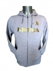 Sweat Atlanta Zipp� Gris clair