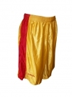 Short mixte Texas Town jaune et rouge