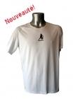 Tee-shirt Sport Running Blanc