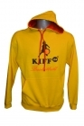 Sweat Arizona Bicolore jaune et rouge