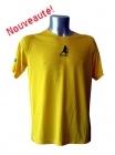 Tee-shirt Sport Running Jaune