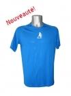 Tee-shirt Sport Running Bleu