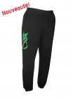 Pantalon Check It Out noir et vert