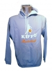 Sweat Arizona Bicolore Bleu Ciel/Blanc