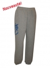 Pantalon Check It Out gris et bleu