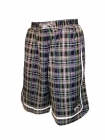 Short Check It Out Reversible noir, jaune et vert